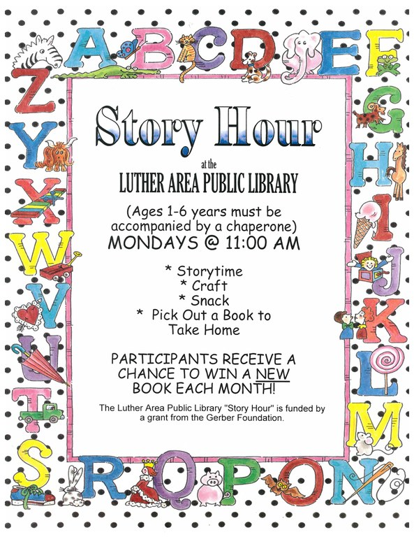 Story Hour Flyer