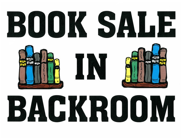 Book Sale in Back Room